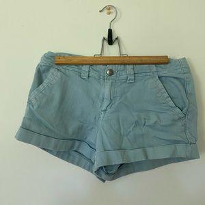 Forever 21 Light Blue Denin Shorts